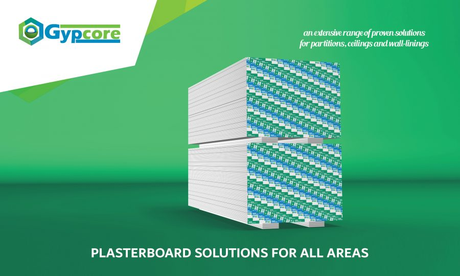 Flyer Gypcore - Plasterboards English